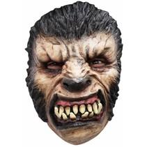 Halloween Masker Weerwolf Deluxe voorkant