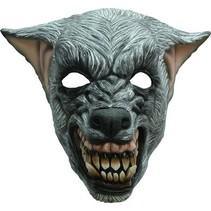 Halloween Masker Wolf Boos Deluxe volledig