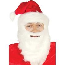 Kerstmuts Kerstman met baard