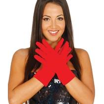Rode Handschoenen 2 stuks