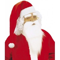 Kerstman Baard en Wenkbrauwen