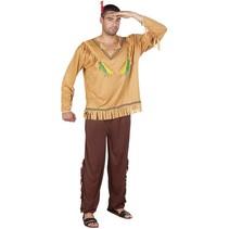 Indianen Kostuum Bruin M/L