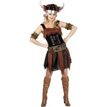 Viking Kostuum Dames Deluxe