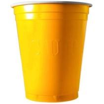 Yellow Cups 473ml 20 stuks