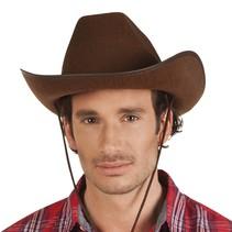 Cowboyhoed Bruin
