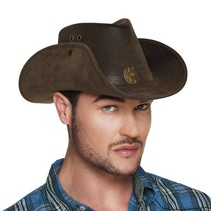 Cowboyhoed Leatherlook Deluxe