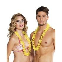 Hawaii Kransen Set Geel 25 stuks