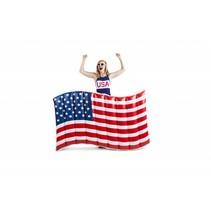 Opblaas Amerikaanse Vlag Luchtbed