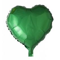 Helium Ballon Hart Groen 46cm leeg