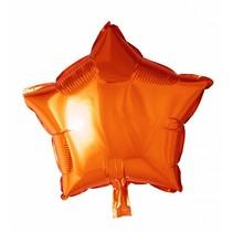 Helium Ballon Ster Oranje 46cm leeg