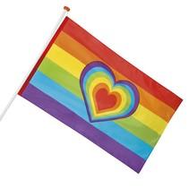 Regenboogvlag 150x90cm