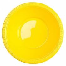 Gele Tafelbakjes Plastic 335ml 10 stuks