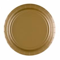 Gouden Borden 23cm 8 stuks