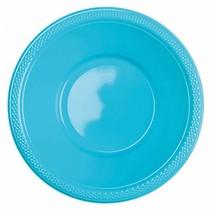 Lichtblauw Tafelbakjes Plastic 335ml 10 stuks
