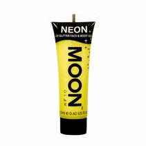 Body Paint Geel Glitter Neon UV 12ml