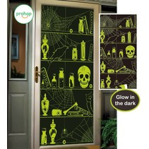 Halloween Deurposter Glow in the Dark 150x75cm