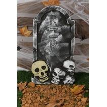 Halloween Grafsteen XL 59x33cm
