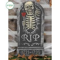 Halloween Grafsteen Tulp 65x32cm