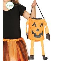 Halloween Pompoen Snoeptas Trick or Treat 20cm