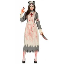 Halloween Kostuum Dames Verpleegster Deluxe