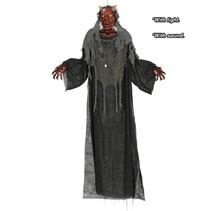 Halloween Pop Satan met licht en geluid 170cm