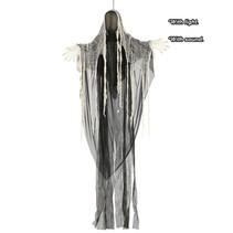 Halloween Pop Grim Reaper met licht en geluid 175cm