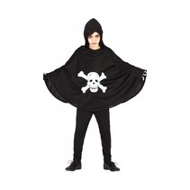 Halloween Kostuum Kind Skelet Cape