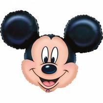 Mickey Mouse Helium Ballon Hoofd XL 71cm leeg