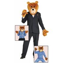 Teddybeer Kostuum Set