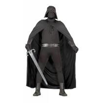Zwarte Strijder Kostuum