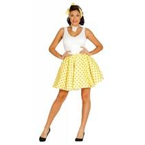 Grease Kostuum Set Geel 50's Dames