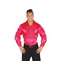Disco Shirt Roze 70's