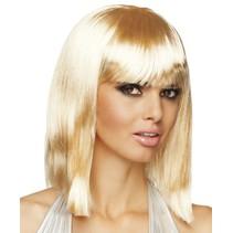 Bob Pruik Half Lang Blond