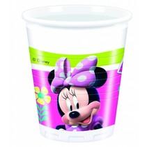 Minnie Mouse Bekers Happy 200ml 8 stuks