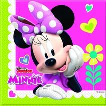 Minnie Mouse Servetten Happy 20 stuks