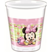 Minnie Mouse Bekers Baby 200ml 8 stuks