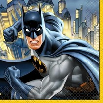 Batman Servetten Versiering 16 stuks