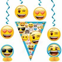 Emoji Decoratie Pakket Zevendelig