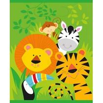 Dieren Uitdeelzakjes Jungle 8 stuks
