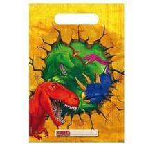 Dinosaurus Uitdeelzakjes 6 stuks