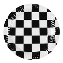 Race Borden 23 cm 6 stuks