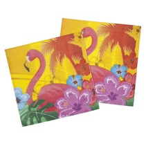 Hawaii Servetten Flamingo 12 stuks