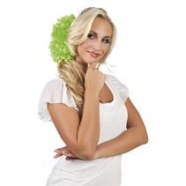Haarbloem Lime Groen 20cm