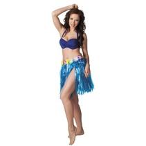 Hawaii Rokje Blauw 45cm
