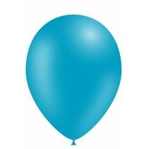 Turquoise Ballonnen 25cm 10 stuks