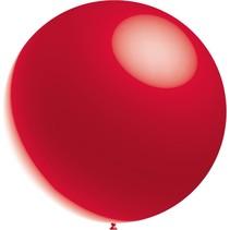 Rode Reuze Ballon XL Metallic 91cm
