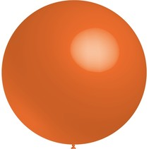 Oranje Reuze Ballon 60cm