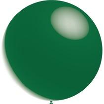 Donkergroene Reuze Ballon Metallic 60cm