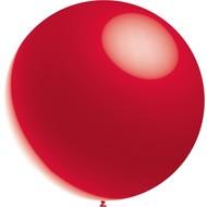 Rode Reuze Ballon Metallic 60cm