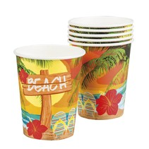 Hawaii Bekers 250ml 6 stuks